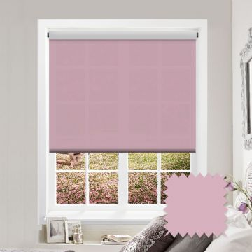 Light Pink Roller Blind Bermuda Pink